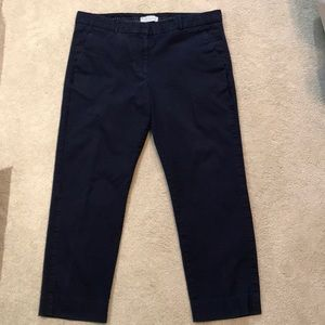 Gap navy blue pants 12A w/detailing on outer seam